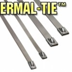 Thermal-Tie-Stainless Steel Locking Tie
